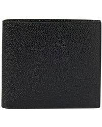 Thom Browne Leather Wallet - Black