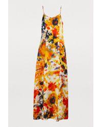 JOUR/NÉ Tie-dye Long Dress - Orange