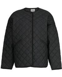 Totême Quilted Jacket - Black