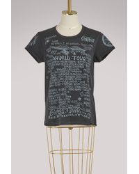 Givenchy - World Tour Printed T-shirt - Lyst