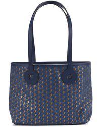 Moynat Kleine Cabas-Tasche Oh! mit Band - Blau