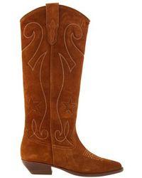 Roseanna Heeled Boots - Brown