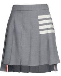 Thom Browne - Mini jupe plissé 4-Bar - Lyst