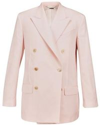 Givenchy Double Breasted Oversize Jacket - Pink