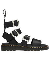 Rick Owens X Dr Martens - Gryphon High Top Sandals - Black