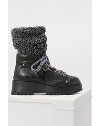 Miu Miu - Hiking Boots - Lyst