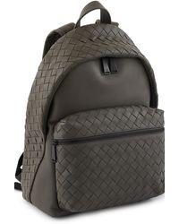 Bottega Veneta Intrecciato Calf Leather Backpack - Multicolour