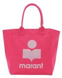 Isabel Marant Yenky Shopping Bag - Pink