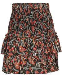 Étoile Isabel Marant Naomi Cotton Skirt - Black