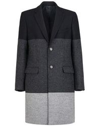 Fendi Wool Coat - Black