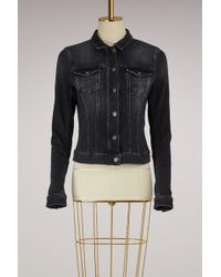 7 For All Mankind - Classic Trucker Jacket - Lyst