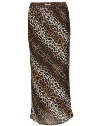 Roseanna Silk Skirt - Multicolour