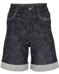 Chloé Denim Shorts - Grey