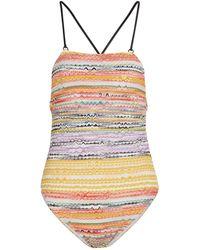 Missoni Knit Swimsuit - Multicolor