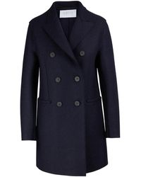 Harris Wharf London - Felted Wool Coat - Lyst