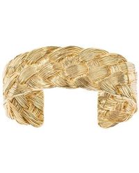 Aurelie Bidermann Tresse Bracelet - Metallic