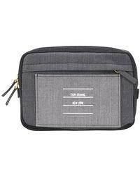 Thom Browne Funmix Belt Bag - Gray