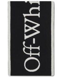 Off-White c/o Virgil Abloh Logo Scarf - Black