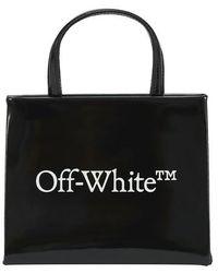 Off-White c/o Virgil Abloh Mini-Tasche mit Logo - Schwarz