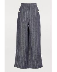 Max Mara - Formia Linen Pants - Lyst