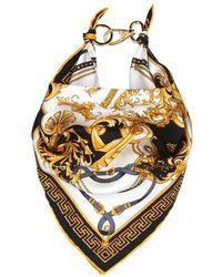 Versace Foulard Bandana - Mettallic