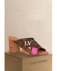 Louis Vuitton Panorama Mule - Multicolour