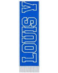 Louis Vuitton Louis City Schal - Blau