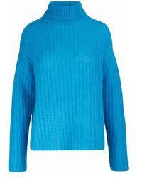 Marni Roll-neck Sweater - Blue