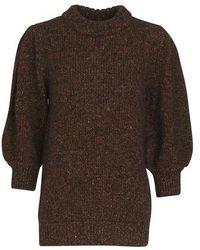 Anine Bing Rosalind Sweater - Brown