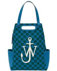 JW Anderson Anchor Backpack - Blue
