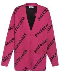 Balenciaga Cardigan - Pink