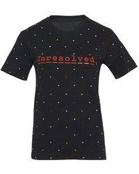 Paco Rabanne Printed T-shirt - Black