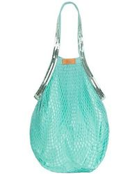 Vanessa Bruno Sequins Fishnet Bag - Blue