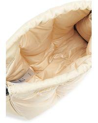 Moncler Miniclutch Seashell - Natur