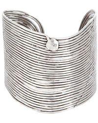 Gas Bijoux - Bracelet Wave argent - Lyst