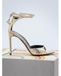 Stella McCartney - Metallic Sandals - Lyst