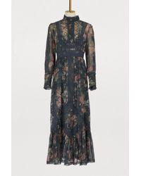 Zimmermann - Silk Maxi Dress - Lyst