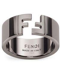 Fendi Ring - Mettallic