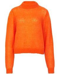 Roseanna Pull en maille - Orange