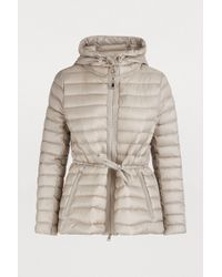d16e9cf8a Lyst - Moncler Raie Quilted Down Jacket in Black
