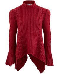 Stella McCartney Alpaca Blend Sweater - Red
