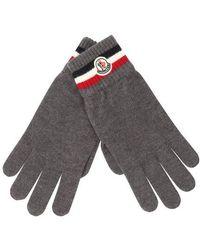 Moncler Handschuhe - Grau