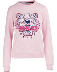 KENZO Tiger Sweatshirt - Pink