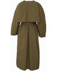 Ganni Trench Coat - Green