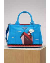 Prada - Boat Canvas Handbag - Lyst