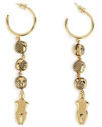 Chloé Emoji Earrings - Metallic