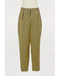 Roseanna - Candela Virgin Wool And Silk Trousers - Lyst