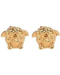 Versace Boucles d'oreilles en métal - Métallisé