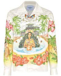 CASABLANCA Kamehamea Shirt - Multicolor