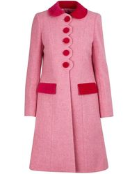 Marc Jacobs The Sunday Best Coat - Pink